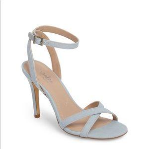 Charles David Denim Heeled Sandals
